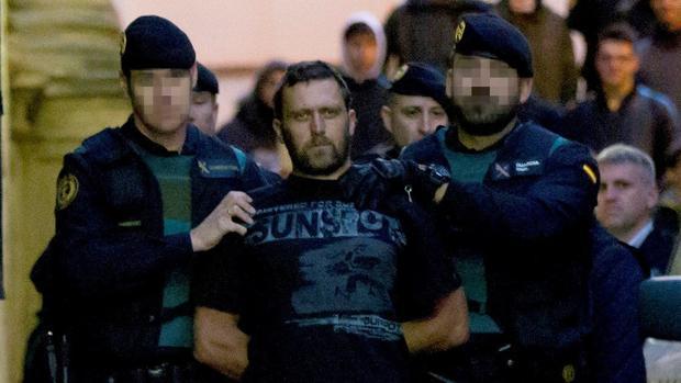 Igor el Ruso, horas después de ser detenido tras el triple asesinato