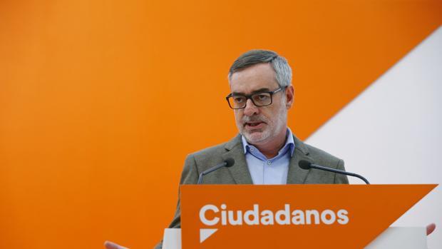 Villegas, número dos de Ciudadanos