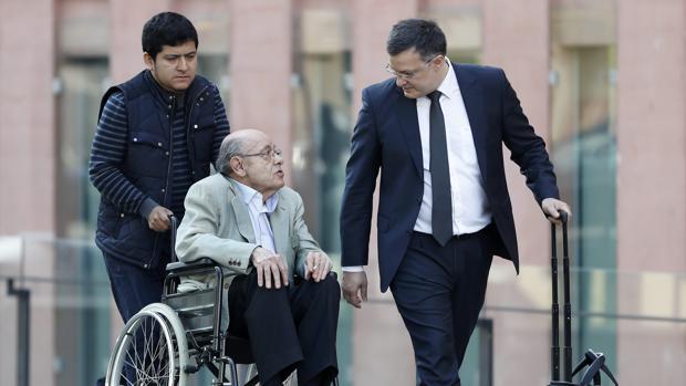 Millet, el pasado mes de mayo, durante una de las sesiones del juicio