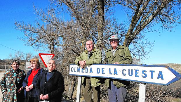 El 70% de los vecinos que en 2011 residían en Olmeda de la Cuesta, Cuenca, ya han muerto