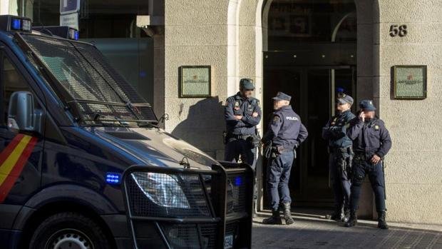 Agents de la Policía Nacional en una imagen de archivo