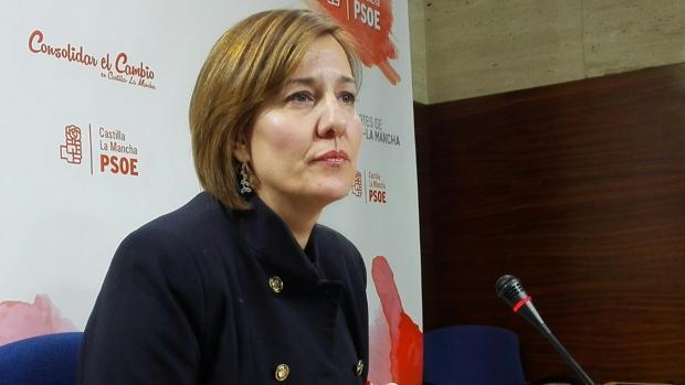 Blanca Fernández, portavoz del Grupo Socialista