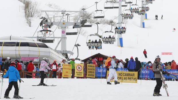 La estación de esquí de San Isidro (León) es la que tiene mayor superficie esquiable abierta