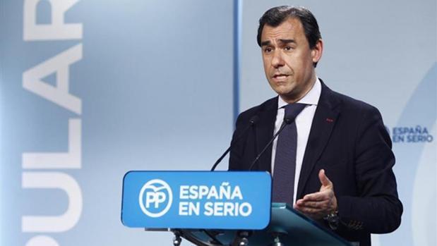 El portavoz del PP, Martínez Maíllo
