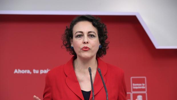 La secretaria de Seguridad Social y Pacto de Toledo del PSOE, Magdalena Valerio