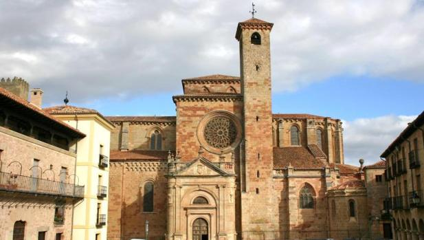 En la imagen, la catedral de Sigüenza