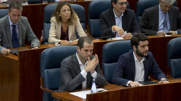 Ignacio Aguado, portavoz de Ciudadanos en Madrid