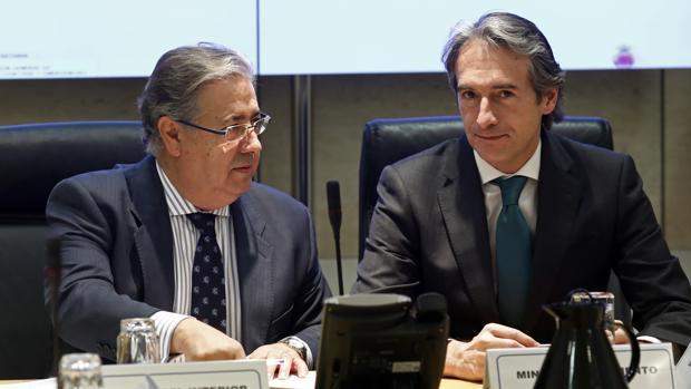 Juan Ignacio Zoido e Íñigo de la Serna