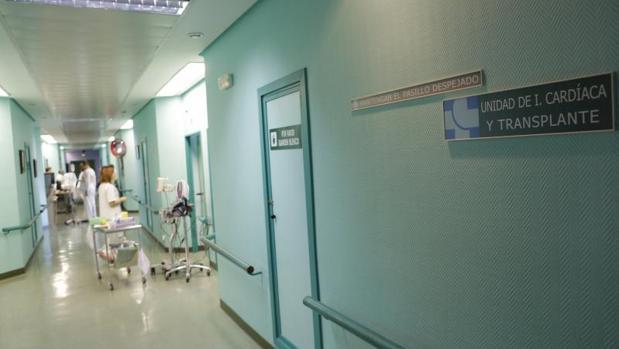 Unidad de cardiología del Hospital Clínico Universitario