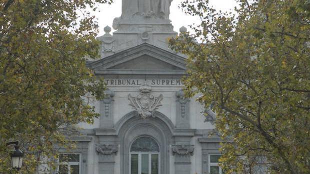 Imagen del Tribunal Supremo en Madrid