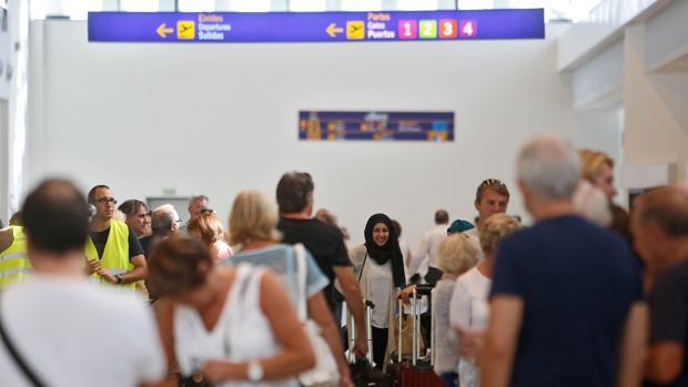 Imagen de la terminal del aeropuerto de Castellón