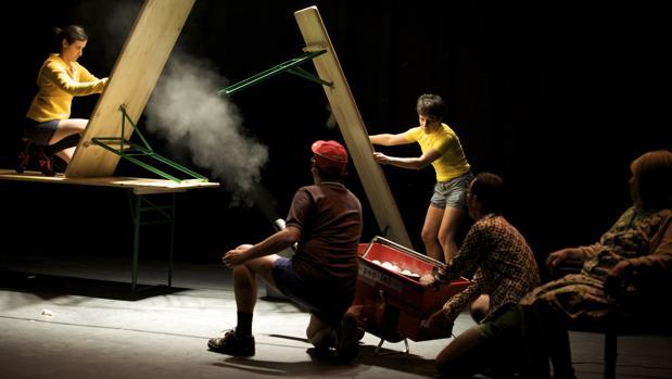 La compañía suiza Lálakran, en una edición anterior de escena abierta