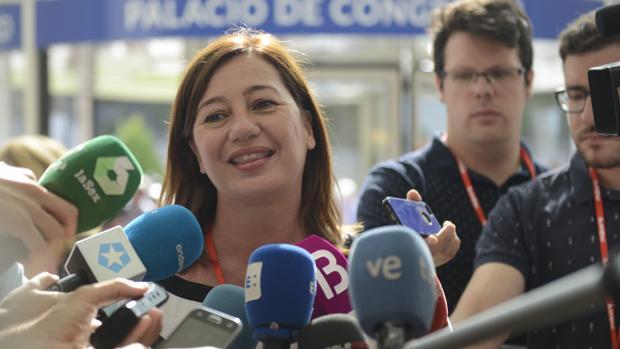 Francina Armengol, presidenta de Baleares gracias al apoyo de los econacionalistas de MÉS y Podemos