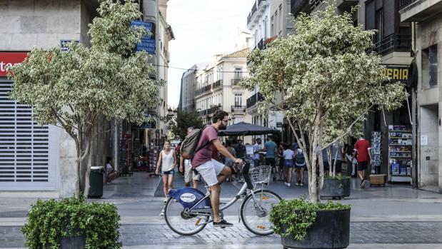 Imagen de archivo de la calle Navellos de Valencia