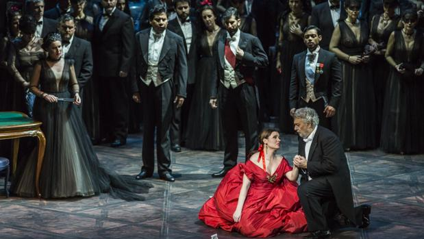 Imagen de archivo de la ópera «La Traviata» en el Palau de les Arts