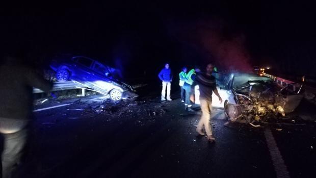 La colisión ha tenido lugar en la A-8 en Cantabria