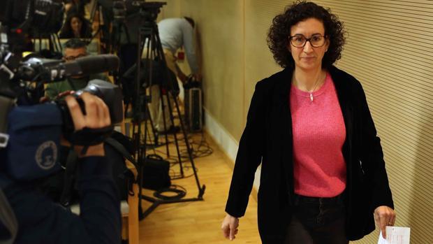 Marta Rovir, secretaria general de ERC