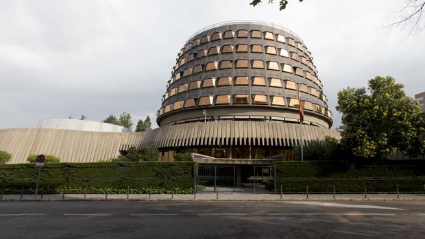 Fachada del Tribunal Constitucional en una imagen de archivo