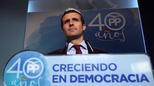 El vicesecretario general de comunicación del Partido Popular, Pablo Casado