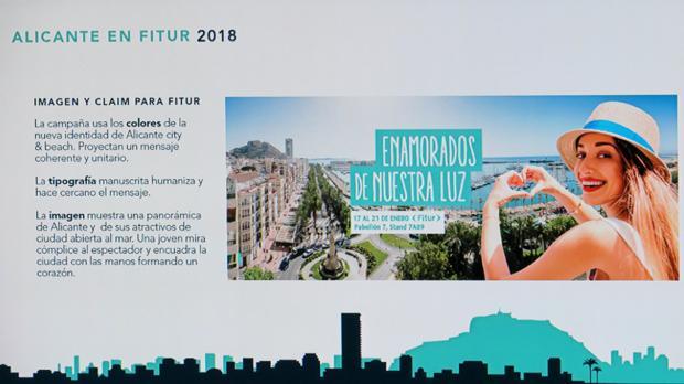 Presentación del estand de Alicante en Fitur 2018