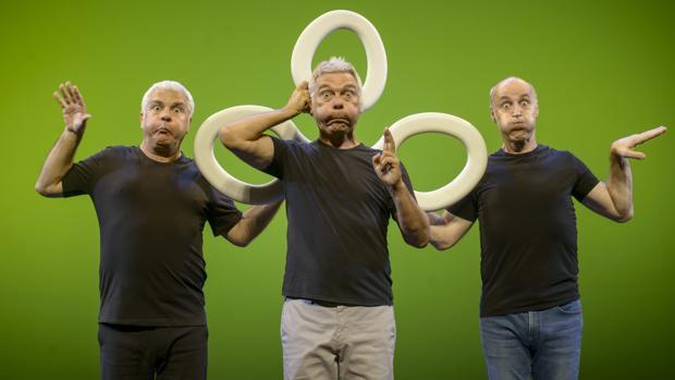 El grupo «Tricicle», encargado de abrir la nueva temporada del Rojas