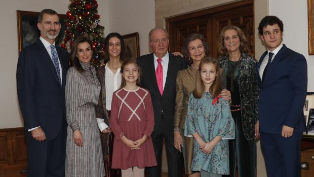 Celebración del 80 cumpleaños de Don Juan Carlos, a la que no asistió la Infanta Doña Cristina