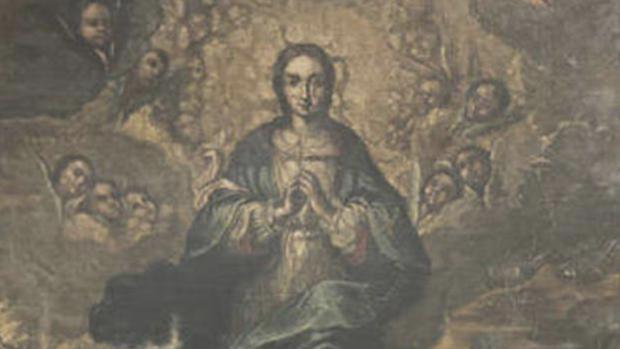 El cuadro que debe ser reintegrado al Monasterio de Villanueva de Sijena