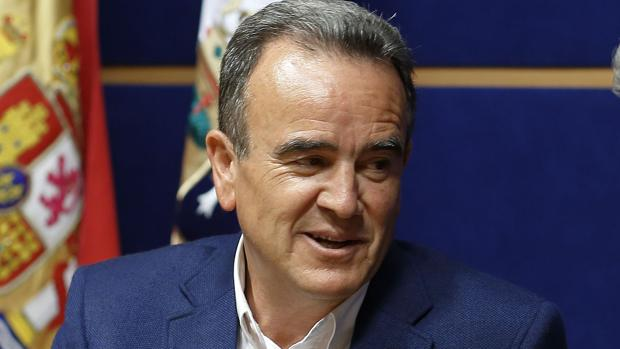 Juan Antonio Sánchez Quero preside la Diputación de Zaragoza