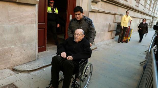 Félix Millet sale del Palau este lunes tras serele notificada la sentencia, que le condena a 9 años y 8 meses de prisión