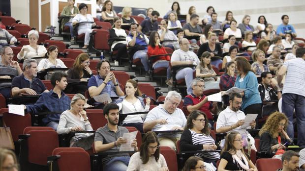 Imagen de archivo de examenes de oposiciones