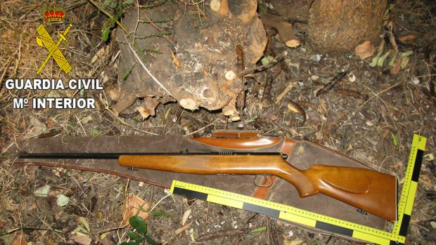 Imagen del arma empleada