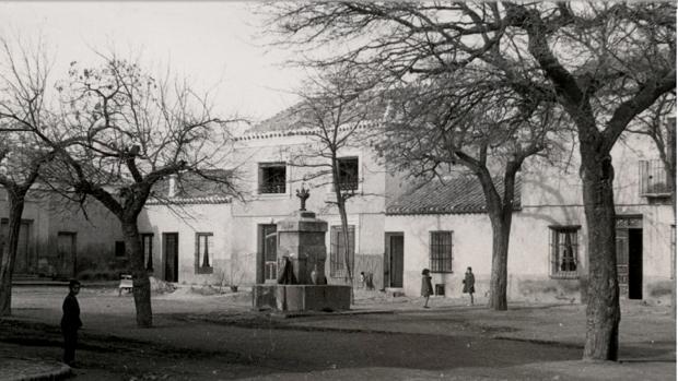 Vista de Mascaraque, localidad natal de las dos mujeres implicadas en el asesinato (Foto, Fondo «Los Legados de la Tierra», BIDICAM)