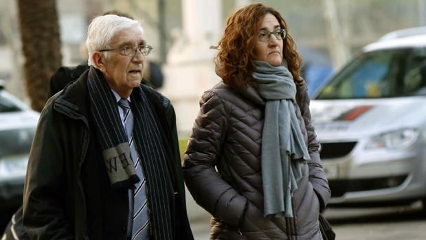 El extesorero de CDC Daniel Osàcar, a su salida de la Audiencia de Barcelona el pasado lunes