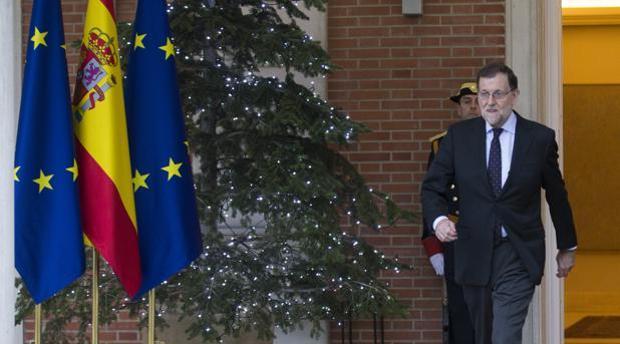 Rajoy, en La Moncloa estas pasadas Navidades