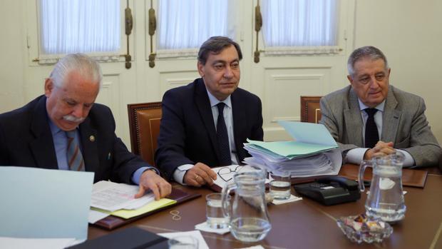 Sánchez Melgar preside la reunión del Consejo Fiscal