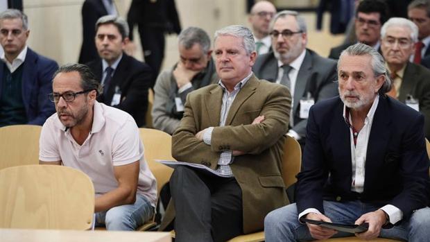 El «Bigotes», Crespo y Correa, en el banquillo de los acusados