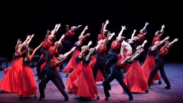 El Ballet Nacional, durante una actuación