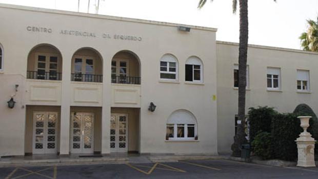 Fachada del Centro Doctor Esquerdo, al que está adscrto el funcionario inactivo desde hace 15 años