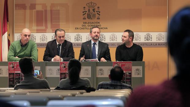 José Jaime Alonso, José Julián Gregorio, Mariano Alonso y Ángel Martínez
