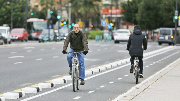 Tram de carril bici de València