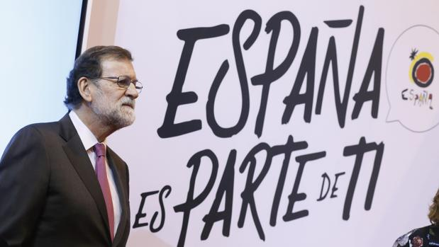 Mariano Rajoy, este viernes en Fitur