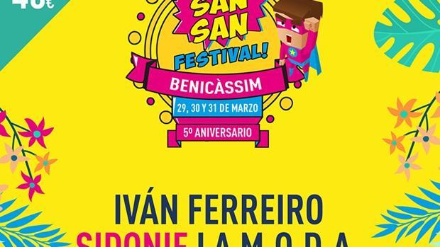 Cartel del Sansan Festival 2018