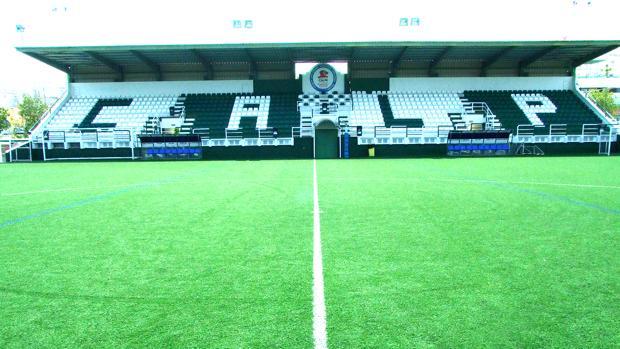 Imagen del campo de fútbol del Calpe CF