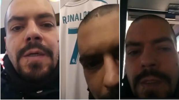 Ignacio Racionero, «Nachito», en la tienda del Real Madrid en el Santiago Bernabéu