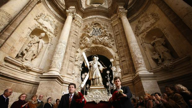 Imagen de archivo de la procesión por San Vicente Mártir en Valencia