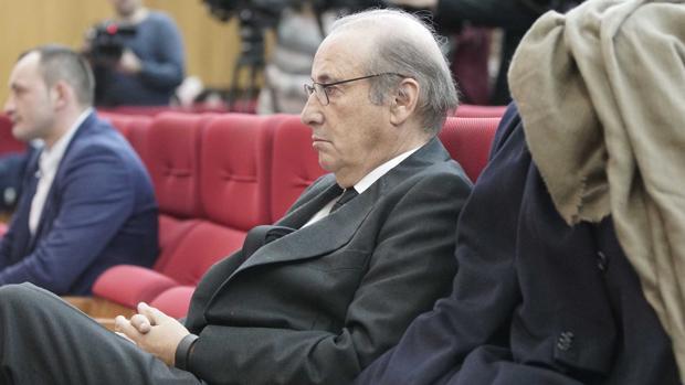 Francis Franco, durante la vista penal que se celebra contra él en Teruel