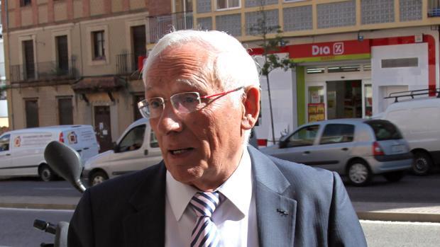 El expresidente de la Diputación Provincial de Segovia y de Caja Segovia, Atilano Soto