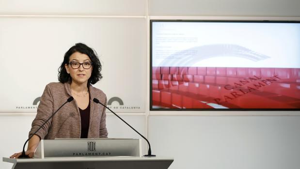 La portavoz del PSC, Eva Granados