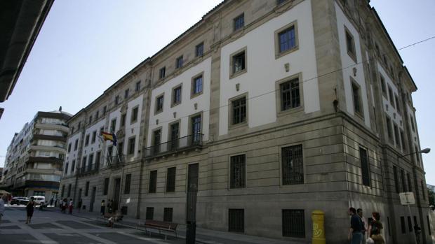 Vista de la Audiencia de Pontevedra
