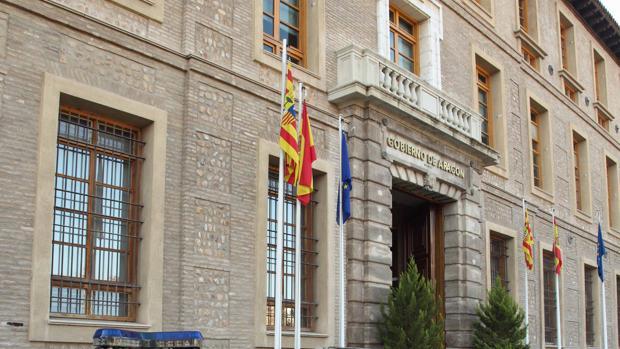 Edificio Pignatelli, sede del Gobierno aragonés